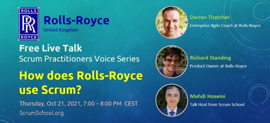 How does Rolls-Royce use Scrum?