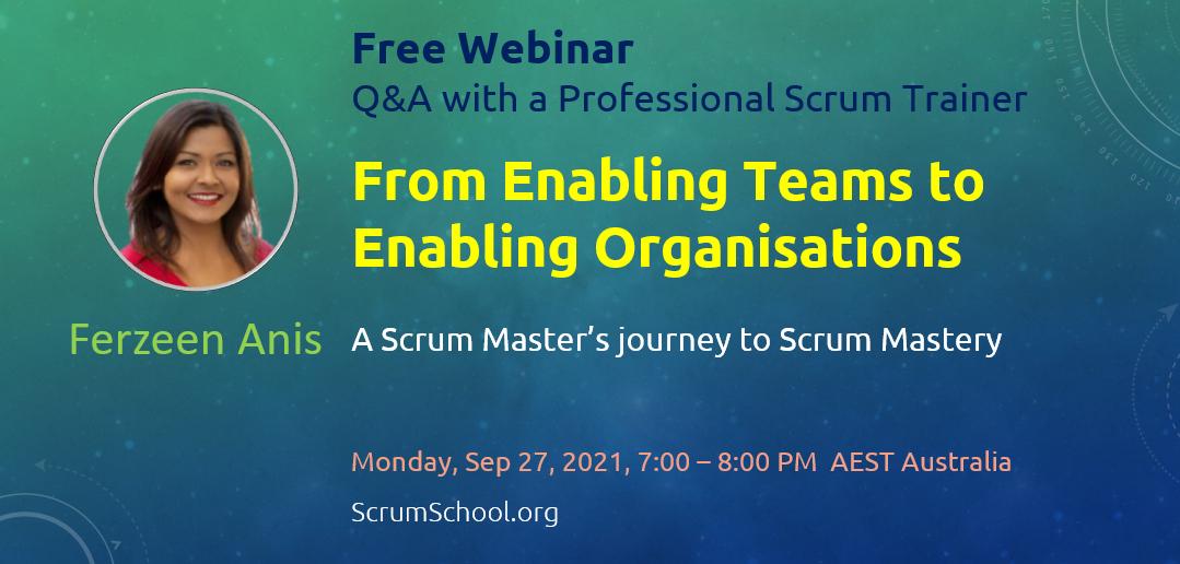 From Enabling Teams to Enabling Organisations